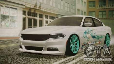 Dodge Charger RT 2015 Hatsune Miku for GTA San Andreas