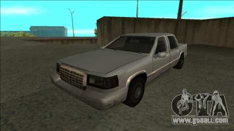 Stretch Sedan for GTA San Andreas back left view