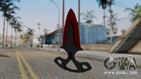 Shadow Dagger Bloody cobwebs for GTA San Andreas second screenshot