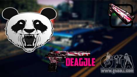 Deagle for GTA San Andreas