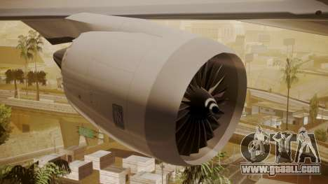 Boeing 787-9 ANA R2D2 for GTA San Andreas right view