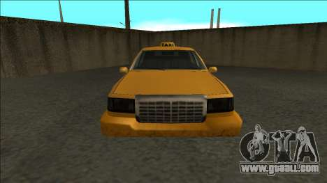 Stretch Sedan Taxi for GTA San Andreas right view