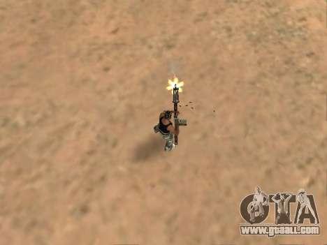 M249 for GTA San Andreas fifth screenshot