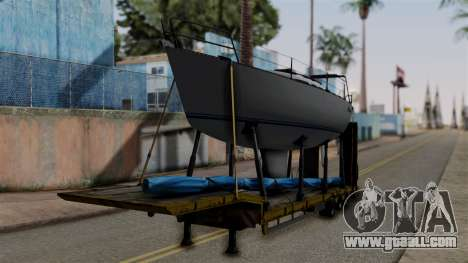 Overweight Trailer Yellow for GTA San Andreas