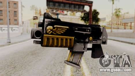 A bolter from Warhammer 40k for GTA San Andreas
