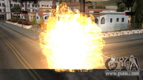 Realistic Effects Particles for GTA San Andreas