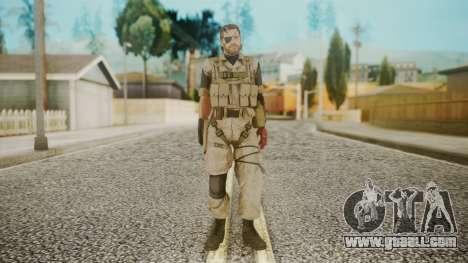 Venom Snake Desert Fox for GTA San Andreas second screenshot