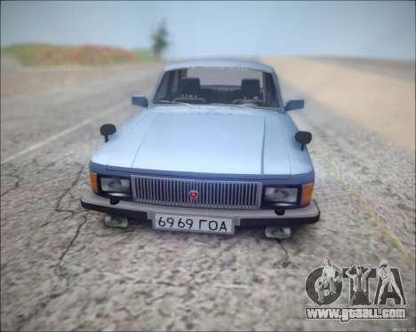 Volga 3102 for GTA San Andreas left view