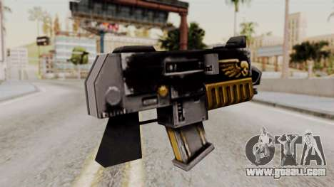 A bolter from Warhammer 40k for GTA San Andreas second screenshot