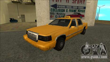 Stretch Sedan Taxi for GTA San Andreas