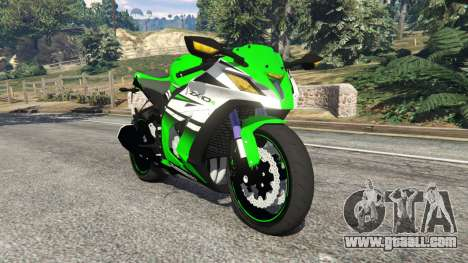 Kawasaki Ninja ZX-10R 2015 for GTA 5