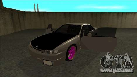 Nissan 200sx Drift JDM for GTA San Andreas back view