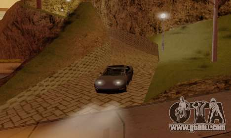 ENB Settings by LaiM for GTA San Andreas forth screenshot