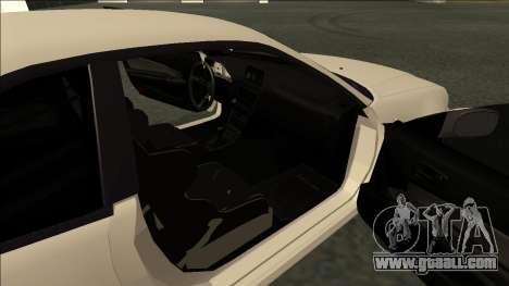 Nissan Skyline R34 Drift JDM for GTA San Andreas back left view