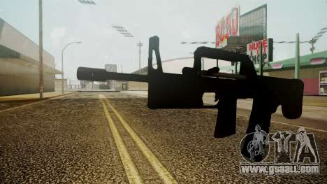 A-91 Battlefield 3 for GTA San Andreas second screenshot