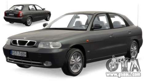 Daewoo Nubira I Hatchback CDX 1997 for GTA 4