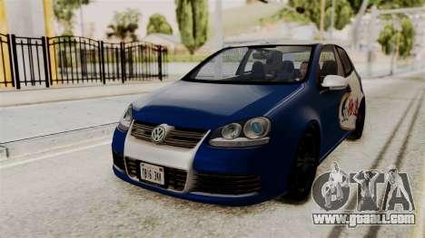 Volkswagen Golf R32 NFSMW05 Sonny PJ for GTA San Andreas back view