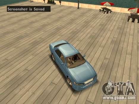 Toyota Mark II for GTA San Andreas inner view