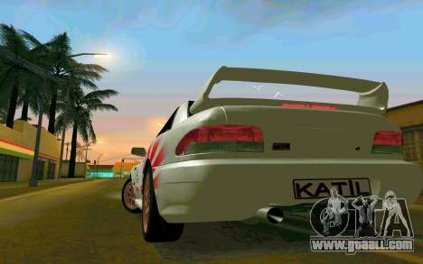 Subaru Impreza 22B STI - Itasha for GTA San Andreas right view