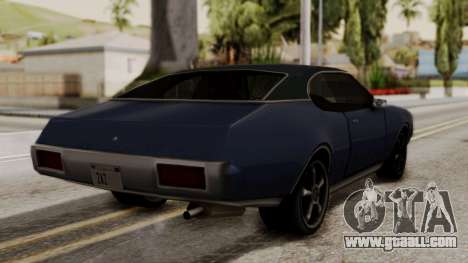 Clover Dub Edition for GTA San Andreas left view