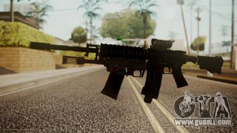 M4 with M26 Mass for GTA San Andreas