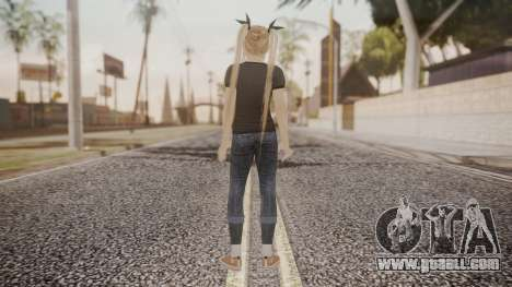 DoA 5 Ultimate - Marie Rose Punk for GTA San Andreas third screenshot