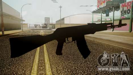 AK-74M Battlefield 3 for GTA San Andreas third screenshot