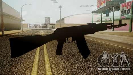 AK-74M Battlefield 3 for GTA San Andreas third screenshot