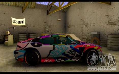 Bravado Buffalo Sticker Bom for GTA San Andreas left view