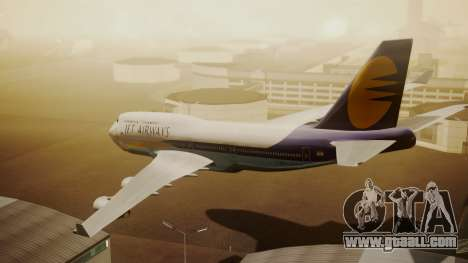 Boeing 747-400 Jat Airways for GTA San Andreas left view