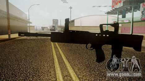 L85A2 Battlefield 3 for GTA San Andreas second screenshot