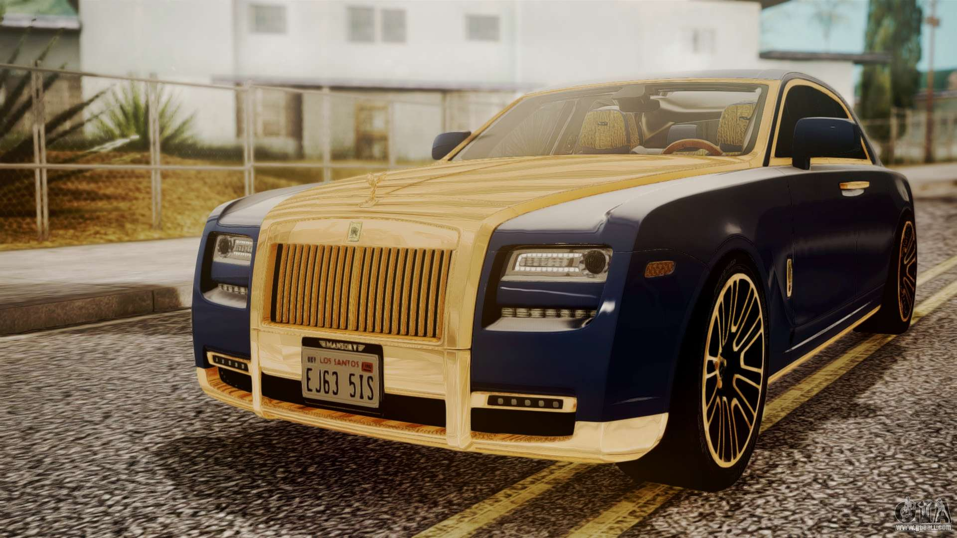 Rolls-Royce for GTA San Andreas