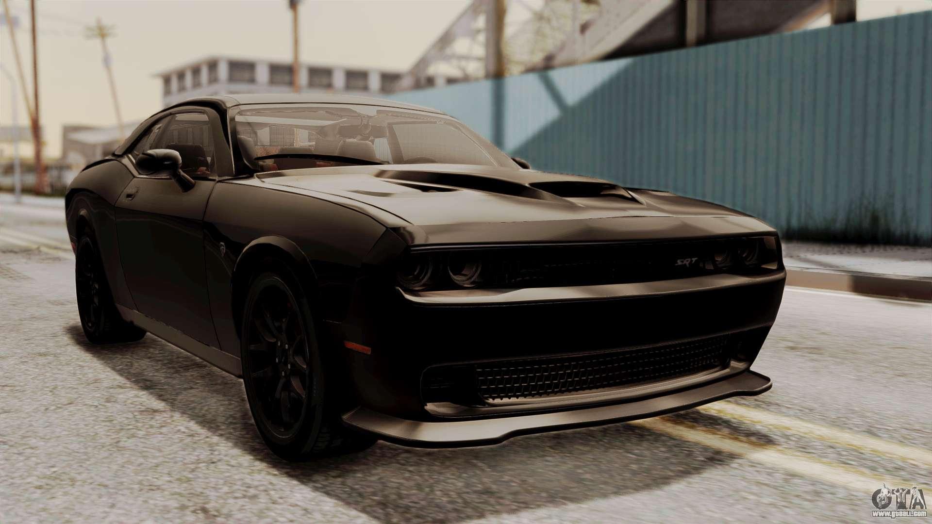 2015 Dodge Challenger Srt Hellcat >> Dodge Challenger SRT Hellcat 2015 IVF for GTA San Andreas