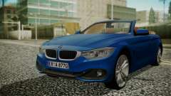 BMW M4 F32 Convertible 2014 for GTA San Andreas