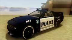 Vapid Dominator Transformers Police Car