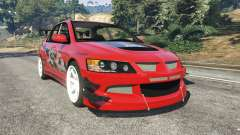 Mitsubishi Lancer Evolution IX FNF for GTA 5