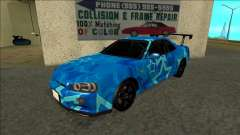 Nissan Skyline R34 Drift Blue Star