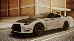 Nissan GT-R R35 2012 v2 for GTA San Andreas