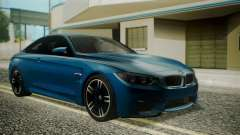BMW M4 Coupe 2015 Brushed Aluminium for GTA San Andreas