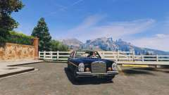Mercedes-Benz 300SEL 6.3 v1.3 for GTA 5