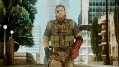 Venom Snake Woodland for GTA San Andreas