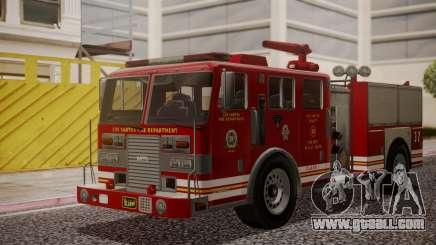 GTA 5 MTL Firetruck for GTA San Andreas