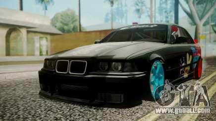 BMW M3 E36 Happy Drift Friends for GTA San Andreas