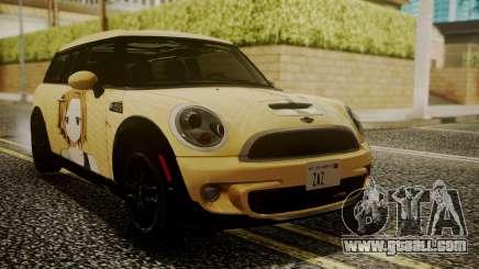 Mini Cooper Clubman 2011 K-ON Ritsu Itasha for GTA San Andreas