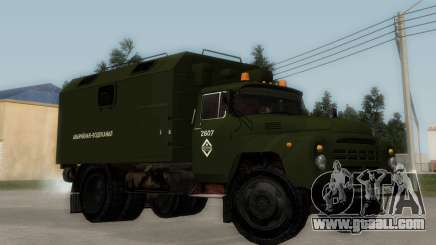 ZIL-130 Emergency Water for GTA San Andreas
