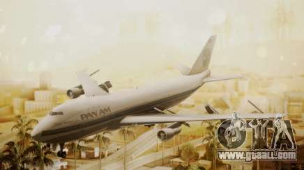 Boeing 747-100 Pan Am Clipper Maid of the Seas for GTA San Andreas
