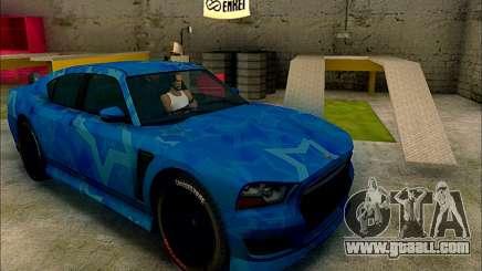 Bravado Buffalo Blue Star for GTA San Andreas