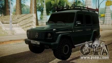 Mercedes-Benz G500 Off-Road for GTA San Andreas