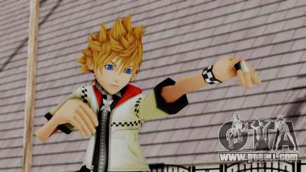 Kingdom Hearts 2 - Roxas Default for GTA San Andreas