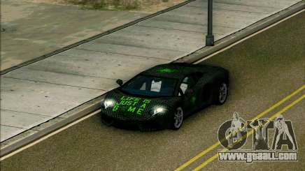 Lamborghini Aventador LP-700 Razer Gaming for GTA San Andreas